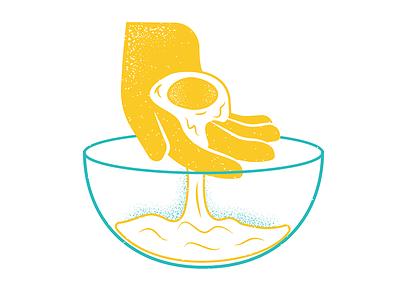 Feast Magazine June Issue 04 feastmagazine food eggs texture magazine illustration magazine editorial illustration editorial illustration