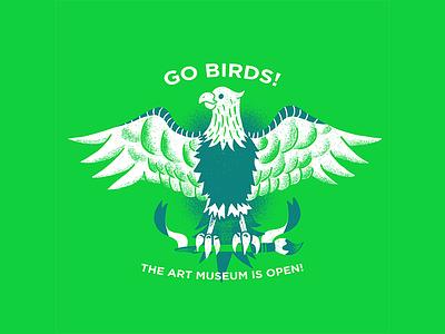 Eagles - 01 philadelphia editorial illustration editorial illustration