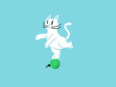 12 days of Cat-mas -10 holidays christmas cats editorial illustration editorial illustration