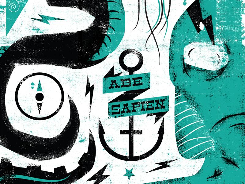 Abe Submission illustration hellboy comics abe sapien