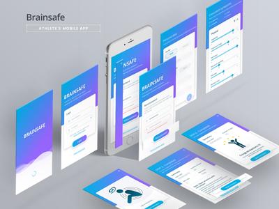 brainsafe iosapp appdesign dribble design product design ui  ux concept design mobile ui mobile app design app design ui deisgn uiux design ui design uiux