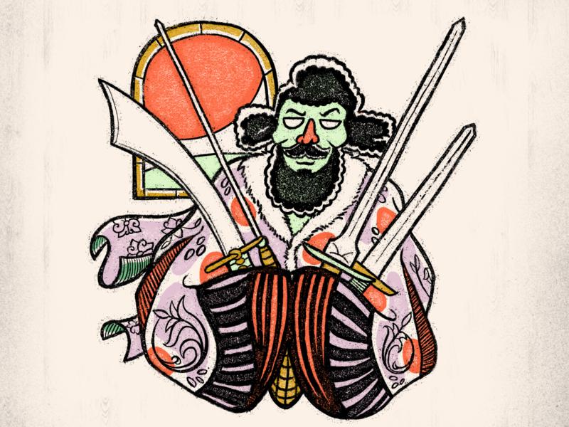 Swordsman Illustration