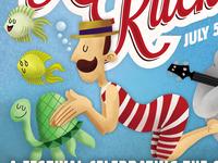 River Ruckus 2014 Poster Illustration