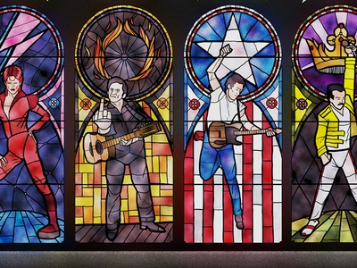 Church of Rock & Roll Poster