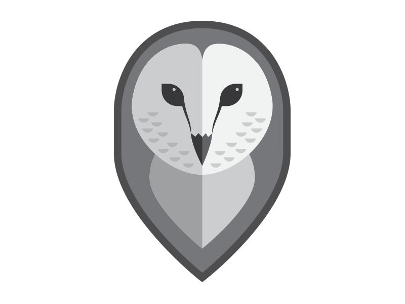 Owl Logo Exploration - 2 brand logo illustration owl