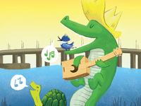 River Ruckus 17 Illustration