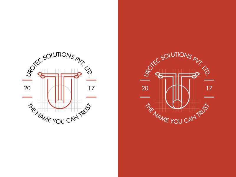 Urotec Solutions Pvt. Ltd jewellery logo vector illustration logo design