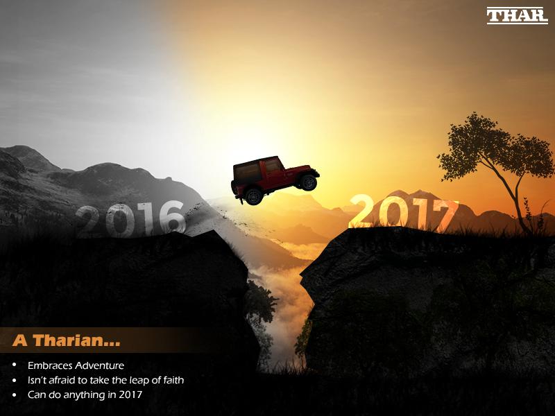 Mahindra Thar mahindra thar thar automobile new year