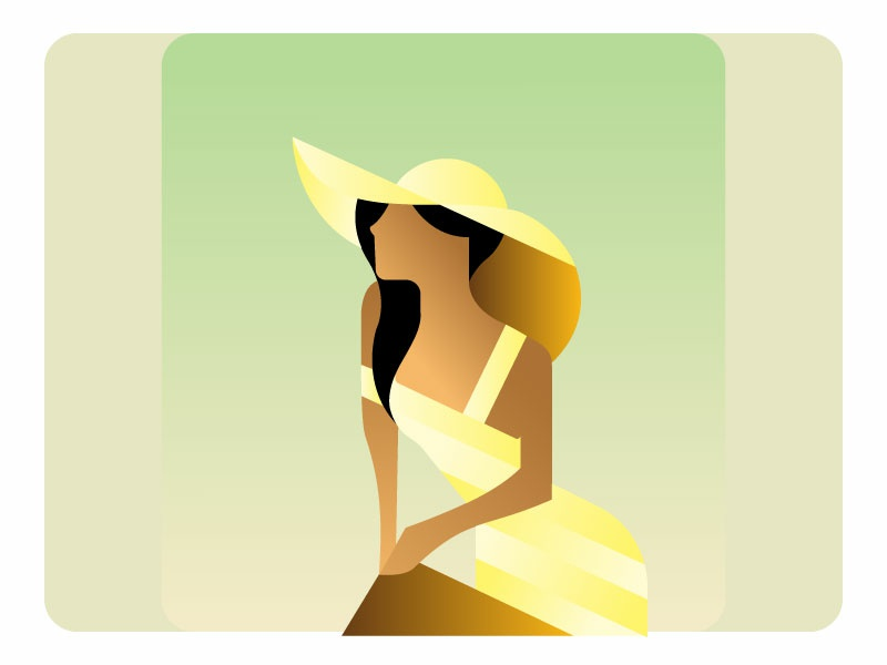 The lonely summer summer party lonely summer the lonely summer design flat design flat icon vector illustration