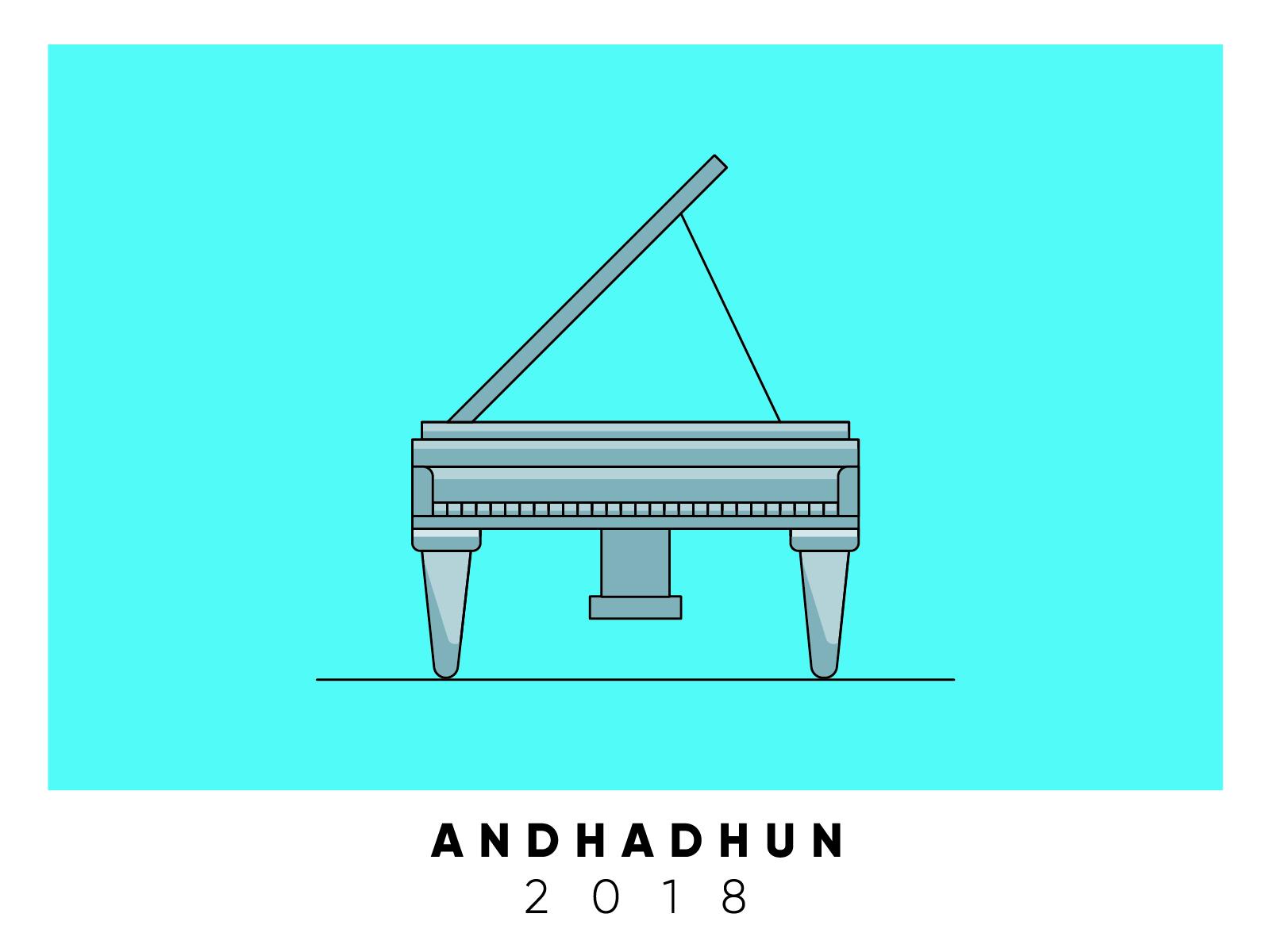 Andhadhun Movie Poster By Yogesh More On Dribbble