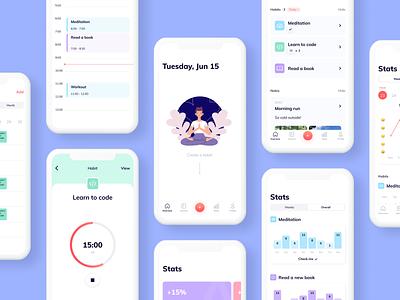 Habitlog - Mobile App tools