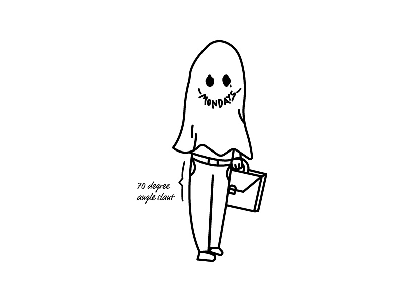 What's scarier than Halloween? - Mondays life malaysia illustration adult 101 boo monday blues happy halloween