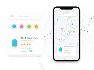 Map Concept - UI Kit