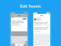 Edit Tweets