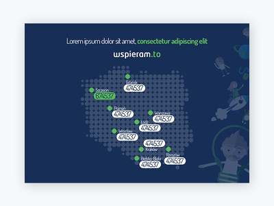 Map map icons icon vector blue green landing
