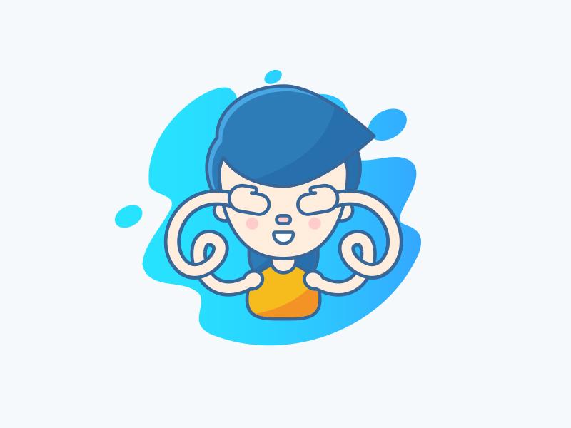 Eyes eyes people illustration icons icon character avatar