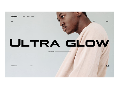 Ultra clean ux design interface web design web ux ui