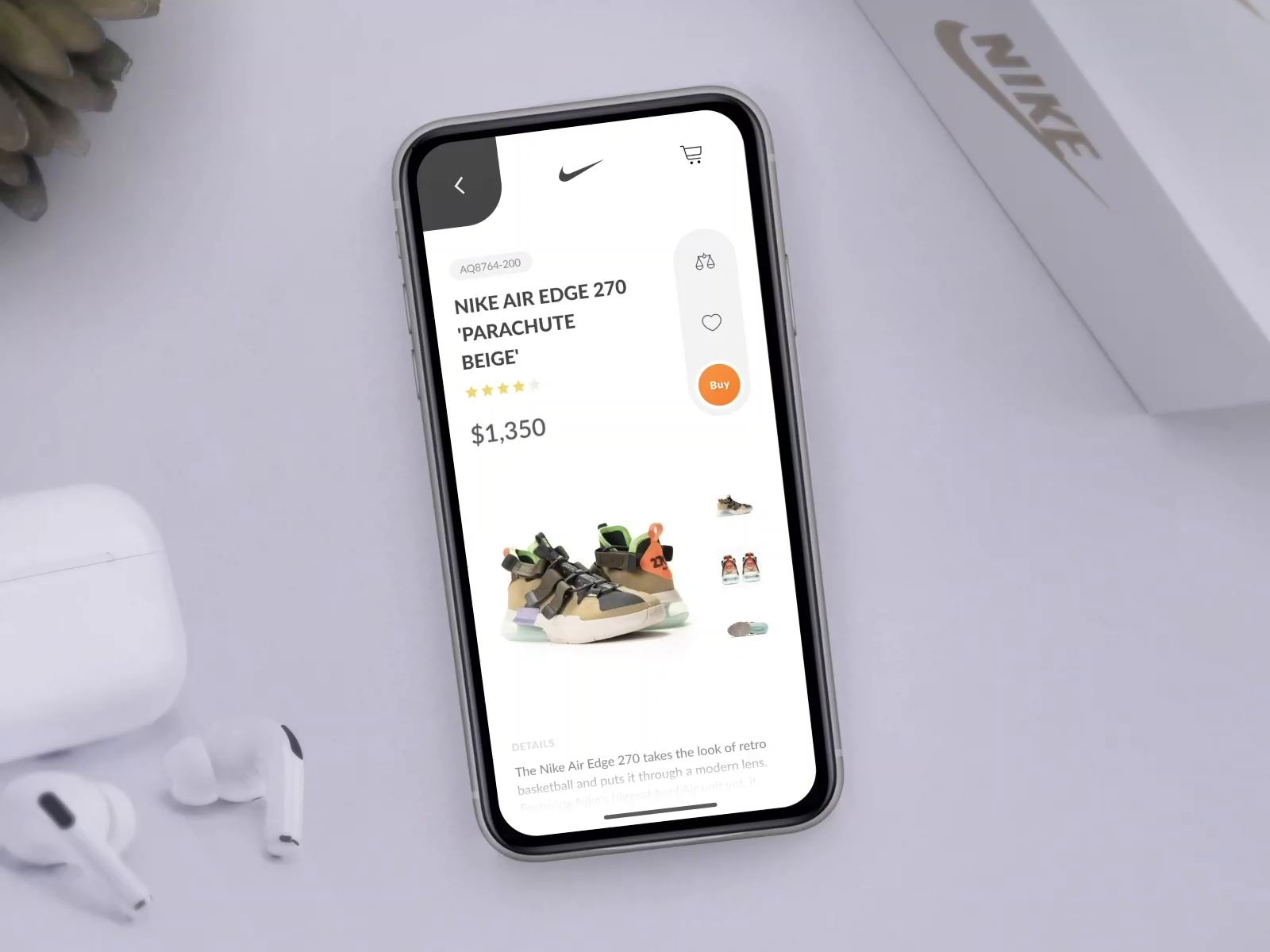 E Commerce App Design Inspiration