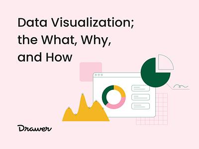 Data Visualization revenue growth pink dashboard illustration animation lottie drawer big graph visualization visualisation data post blog