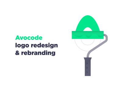 Avocode Rebranding illustration redesign design rebrand brand avocode