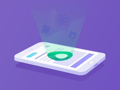 Avocode for Mobile inspect light isometric glow layout code mobile react react native android ios avocode