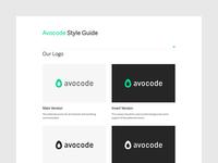 Avocode Style Guide