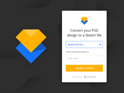 PSD to Sketch Converter - by Avocode avocode psd shapes layer file design convert photoshop sketch