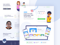 Mimo - New Landing Page