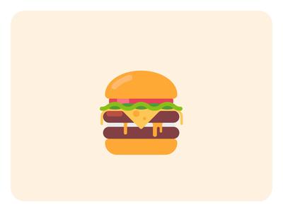 FREE animated burgers drawer freebie webflow asset ordering application app website design ux ui animated flat delicious food illustration lottie animation burger free
