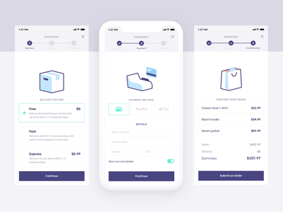 Essential eCommerce Icons ui delivery card drawer market shopping vector order checkout app product payment box bag animated animation ecommerce eshop icons lottie