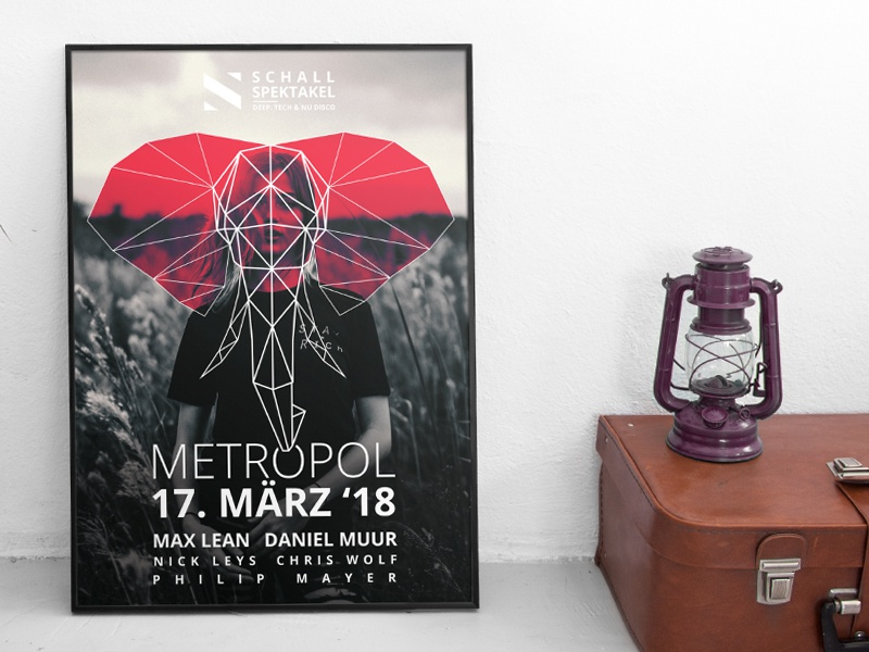 Graphic Design Muur : Event poster design by samuel scherzinger dribbble dribbble