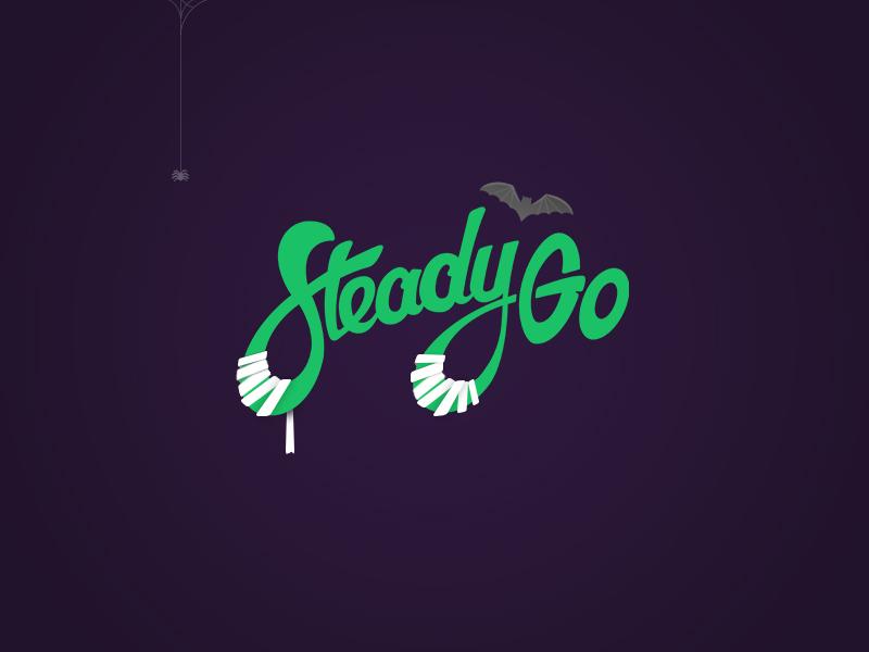 👻🎃  SteadyGhoul 🎃👻 ux ui icon brand design logo halloween