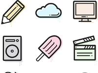 Sg   line icons