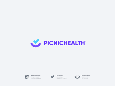 Picnic Health Concept vector clean simple web abstract modern branding concept logodesign logo identity branding design branding