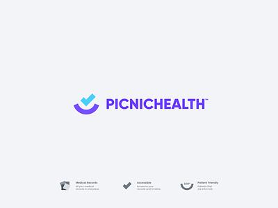 Picnic Health Concept vector clean simple web abstract modern branding concept logodesign logo identity branding design branding