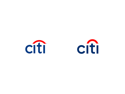 Citi Redesign Concept modern simple bank rebrand rebranding logo redesign concept refresh redesign