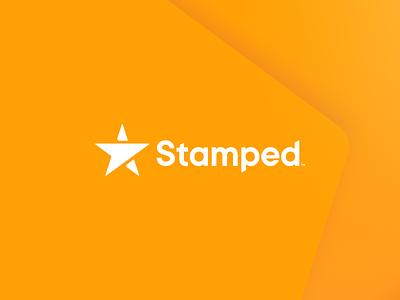 Stamped Branding rebrand refresh logotype vector modern brand branding logodesign logo