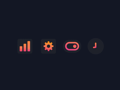 Glass Icon Animation modern aftereffects motion animation
