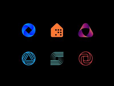 Logo Marks  #2 vector branding simple modern icons logomark challenge design logo