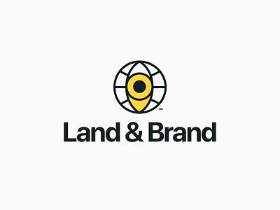Land & Brand Branding brand design brand identity design modern logo modern brand branding