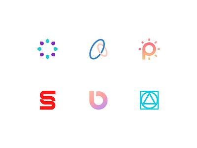 Logomark Collection #4 challenge design modern simple logomark logo