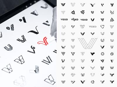 Concept Sketches ipad simple modern design brand branding sketching logo sketches concept