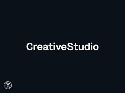 CreativeStudio Rebrand studio creative logo branding design simple modern