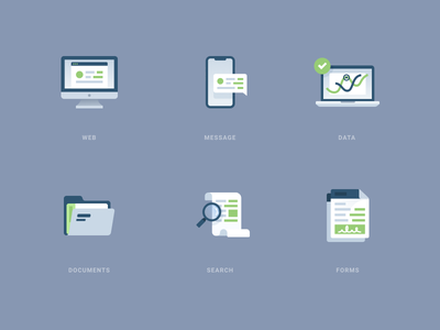 Detailed Icons mobile website logo abstract simple modern design flat illustration icons