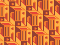 Abstract Building Pattern