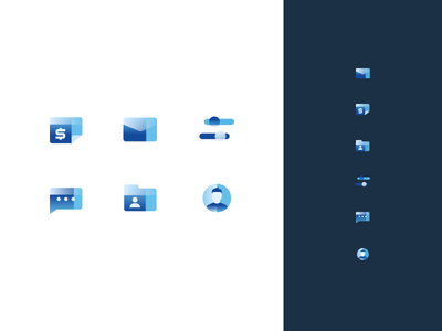 Icon Exploration icons ux ui web clean abstract simple modern