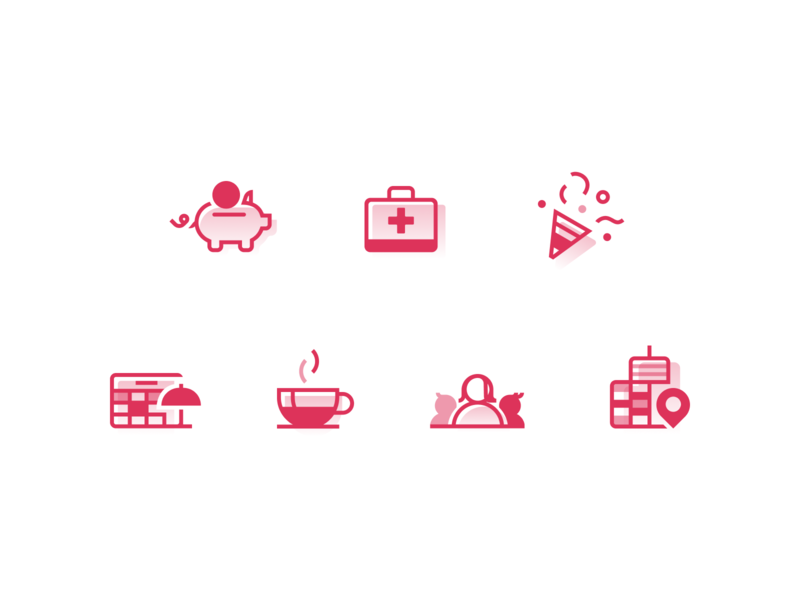 Sweet Icons icon abstract flat simple design modern