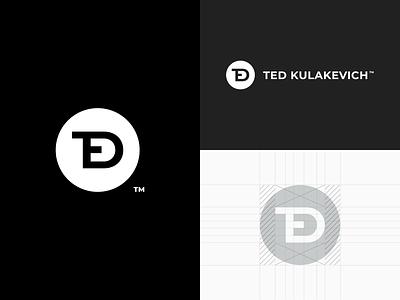 Personal Branding simple modern typography web brand mark logo branding