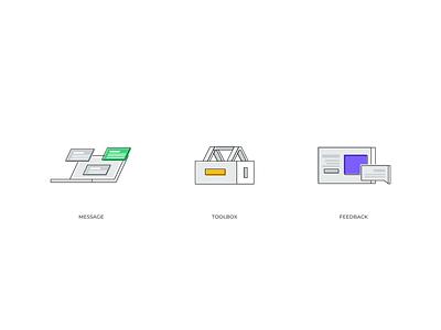 Line Illustrations flat logo clean branding icon abstract illustration simple design modern