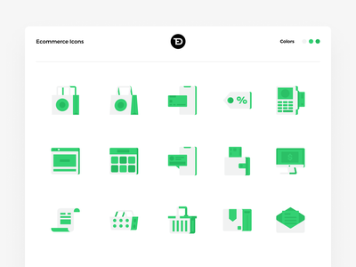 Ecommerce Icon Set ecommerce icon web abstract icons pack iconset simple modern icons